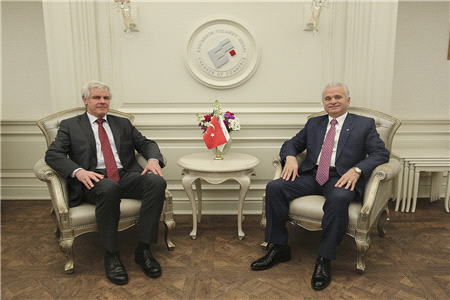 TRADE RELATIONS AND VISA FACILITATION DISCUSSED WITH GERMANY