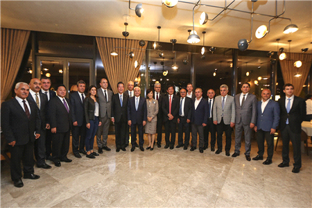 THE BUSINESS WORLD OF ESKİŞEHİR MET WITH THE PARTNER OF THE JAPANESE GOVERNMENT DELEGATION