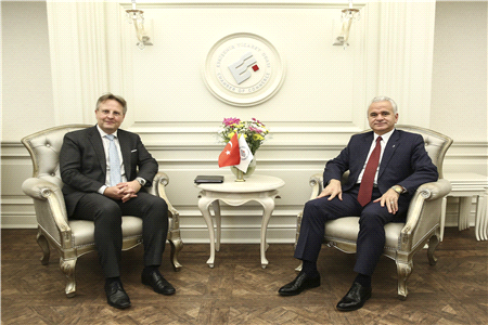 MUTUAL TRADE WAS PUT ON THE TABLE WITH THE AMBASSADOR OF DENMARK