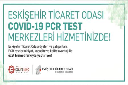 ETO COVID-19 PCR TEST MERKEZLERİ HİZMETE BAŞLADI