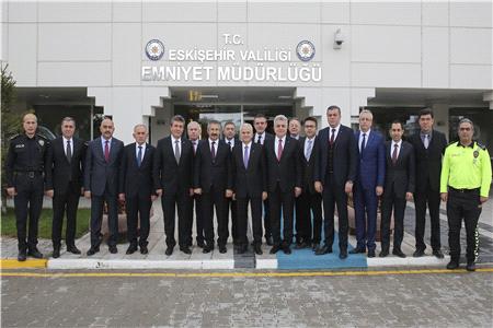 İL EMNİYET MÜDÜRÜNE POLİS HAFTASI ZİYARETİ